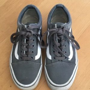 Vans Old Skool grey/white sneakers